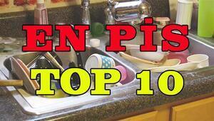 2015 yılının En Pis 10 Eşyası