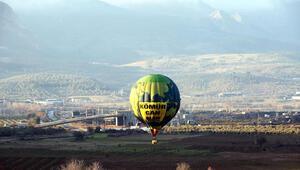 Greenpeace'den balonlu eylem