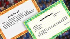 Takdir Teşekkür Hesaplama Nasıl Yapılır | e-Okul karne notları