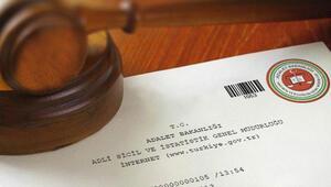 e-Devlet adli sicil kaydı sorgulama