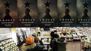 Bowie, ABDde ilk kez liste başı oldu