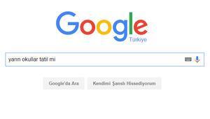 Googleda en çok kar tatili arandı