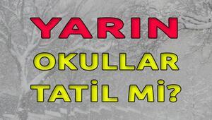 İstanbulda yarın okullar tatil mi