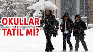 Bugün Okullar Tatil mi - 19 Ocak 2016