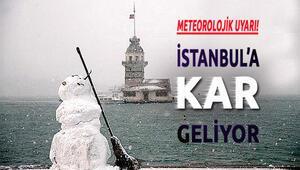 İstanbul hava durumu yoğun kar yağışı var