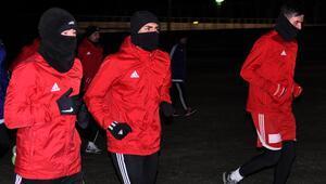 Sivasspor eksi 17 derecede idmana çıktı