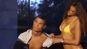 Ronaldo ve Alessandro Ambrosionun görüntüleri nefes kesti