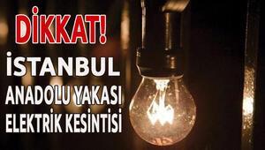 İstanbul Elektrik Kesintisi Olan İlçeler 1 Şubat