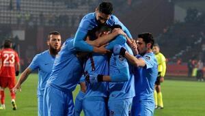 Ziraat Türkiye Kupası'nda Trabzonspor, Akhisar Belediyespor karşısında