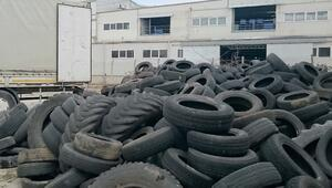 Sivrisinekle mücadele için atıl araç lastikleri toplanıyor