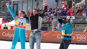 İngilterenin en ünlü kayakçısının hayatı film oldu