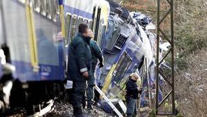 Almanyadaki Ölüm trenindeki Türkler korkunç kazayı anlattı