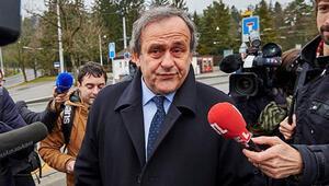 Platini, FIFA Temyiz Kuruluna ifade verdi