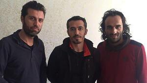 PKKnın kaçırdığı 3 muhabir serbest kaldı