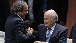 Blatter ve Platininin cezaları indirildi