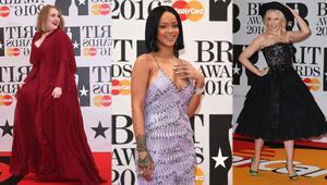 Brit Müzik Ödülleri gecesinde kim ne giydi