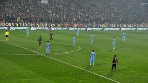 Trabzonsporlu oyunculardan protesto