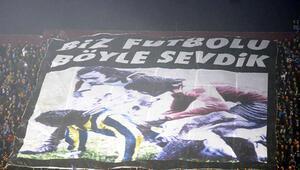 Trabzonda ilginç Fenerbahçe pankartı