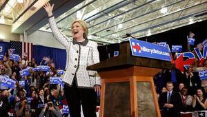 Clinton Güney Carolinada Sandersi geride bıraktı