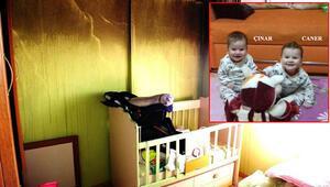İkizleri yangın ayırdı