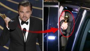 Leonardo DiCaprio az kalsın Oscarını unutuyordu