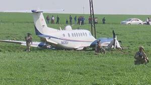 ABDye ait askeri uçak Erbilde acil iniş yaptı