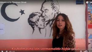 'Yüksekova'da öğretmen olmak' videosu hazırladılar
