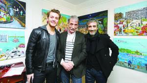 Civan Canova ilk sergisini açtı