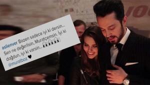 Aslı Enver'den sevgilisi Murat Boza duygusal mesaj