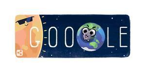 Güneş tutulması Google Doodle oldu Güneş tutulması nedir