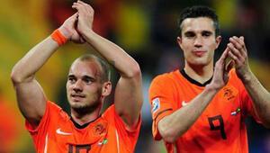 Sneijder var, Van Persie yok