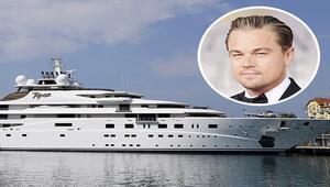 Süperyat hayranı Leonardo DiCaprio