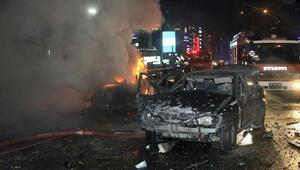 Ankaradaki saldırıyı gerçekleştiren teröristlerin 1i kadın, 1i erkek iddiası