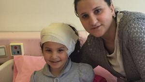 Patlamada 4 yaşındaki Nisanur Alımcı da yaralandı