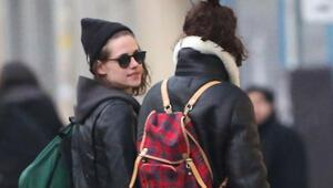 Kristen Stewartın yeni sevgilisiyle Paris kaçamağı