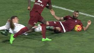 Beşiktaşlıları çıldırtan pozisyon