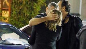 George Clooney sarışın bir kadında böyle yakalandı