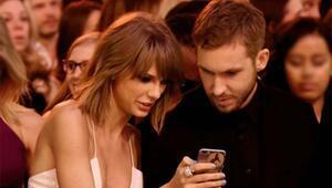 Taylor Swift sevgilisi Calvin Harris ile aşk tazeledi