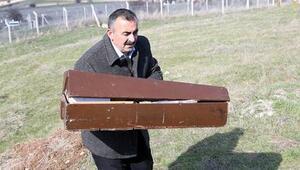 Ankara'daki saldırıda annesinin karnında ölen 6 aylık bebek toprağa verildi