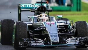 Avustralya Grand Prixsine Hamilton ilk sırada başlayacak