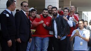 A Milli Futbol Takımı Antalyada