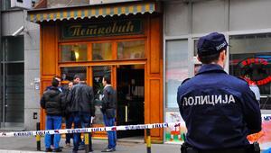 Belgradda patlama: Pastanede kendini havaya uçurdu