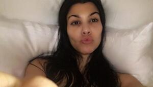 Kourtney Kardashian dudak uçuklattı