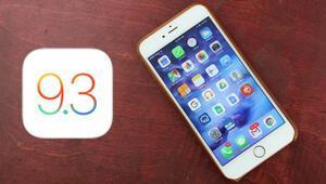 iOS 9.3 güncellemesi yayında