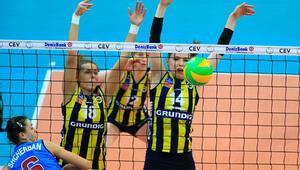 Dinamo Moskova: 2 - Fenerbahçe Grundig: 3