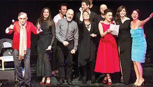 Ünlü isimler Sahnelerden Aşk Şarkıları etkinliğinde sahne aldı