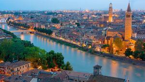 Romeo ve Julietin romantik şehri Verona