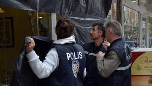 'Canlı bomba' saldırısını planlayan terörist Vahit A.nın amcasına ait işyeri boşaltıldı