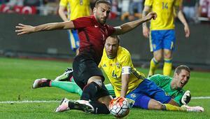 Türkiye İsveç maç sonucu: 2-1