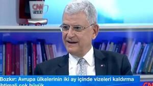 AB Bakanı: Vizeler kalkmazsa mültecileri geri almayız